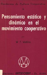 Pensamiento estático y dinámico en el movimiento cooperativo