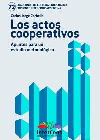 Los actos cooperativos – apuntes para un estudio metodológico